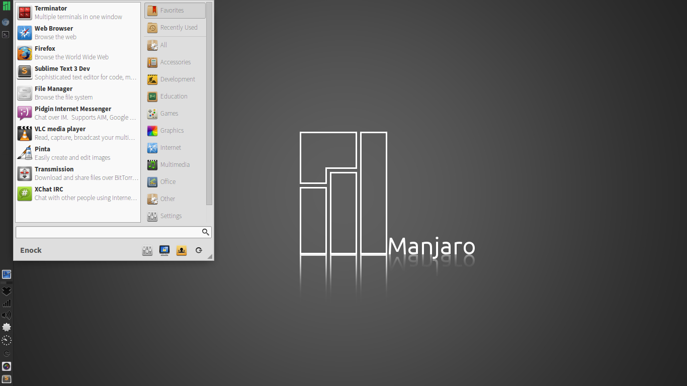 Manjaro_Enock_desktop_preview