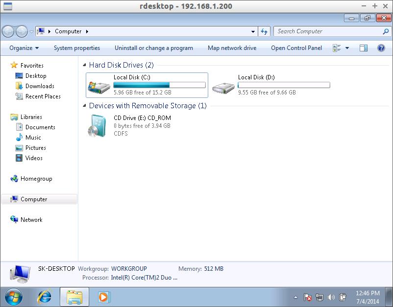 Rdesktop: Access Windows Desktops Remotely From Linux [Quick Tip]
