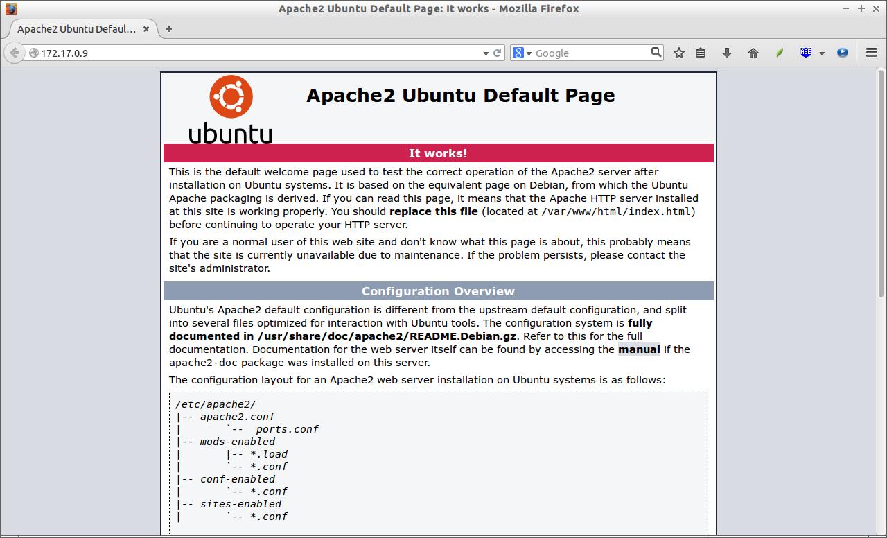 Apache2 Ubuntu Default Page: It works - Mozilla Firefox_001