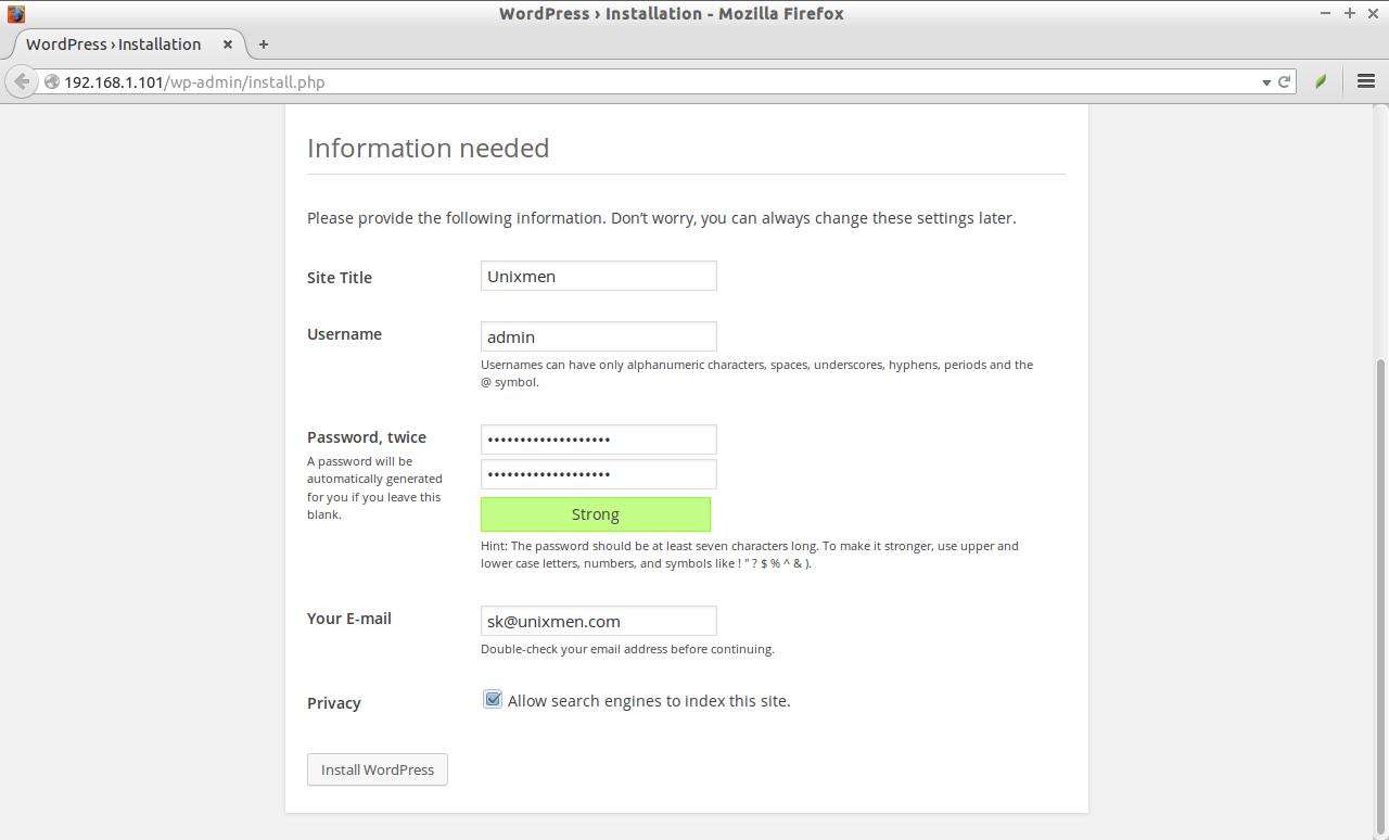 WordPress › Installation - Mozilla Firefox_001