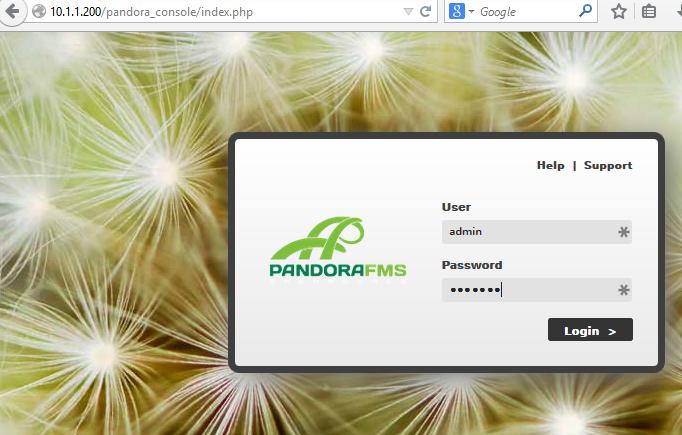 pandora_console