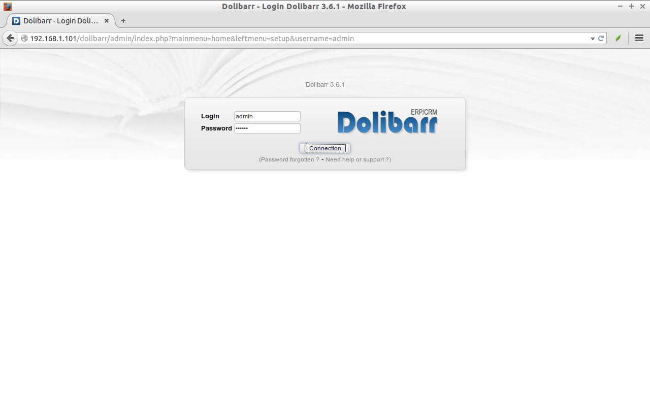 Dolibarr - Login Dolibarr 3.6.1 - Mozilla Firefox_010