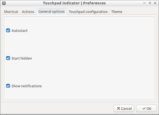 Touchpad Indicator | Preferences_005