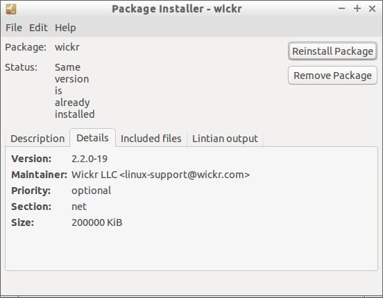 Package Installer - wickr_017