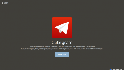 Cutegram: A Better Telegram Client For GNU/Linux
