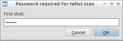 Password required for iwlist scan_001
