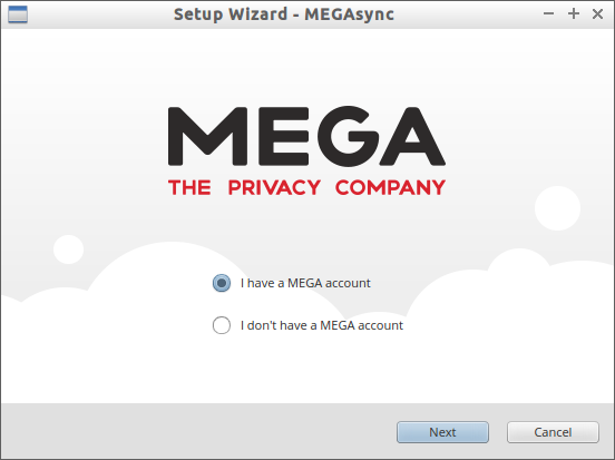 Setup Wizard - MEGAsync_001