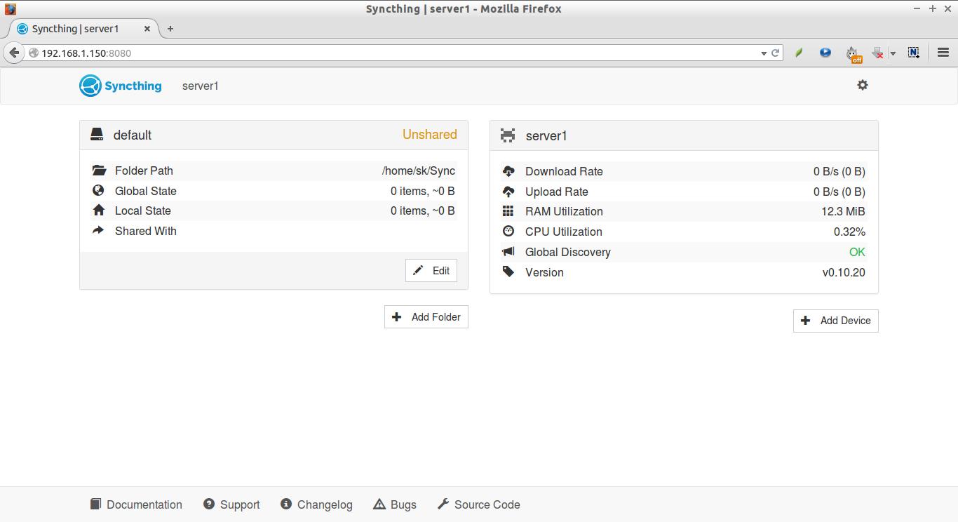 Syncthing   server1 - Mozilla Firefox_001