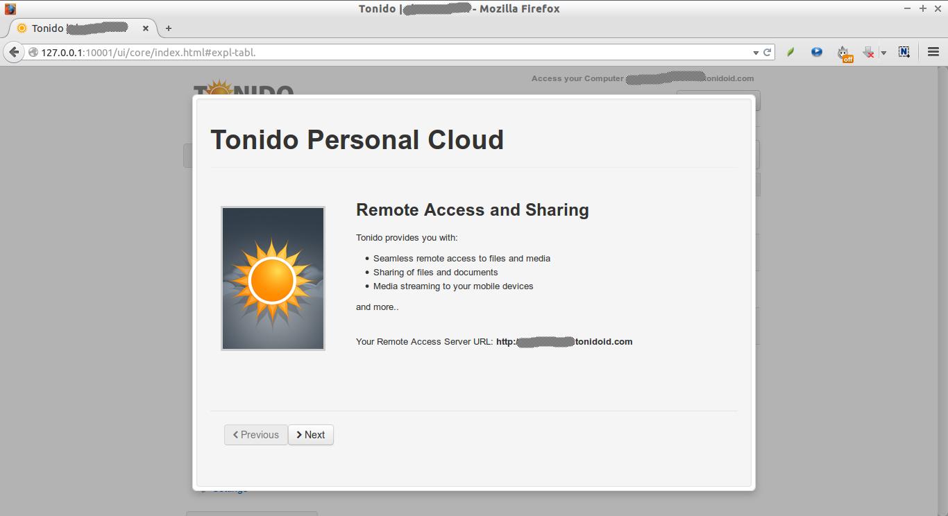 Tonido | skostechnix - Mozilla Firefox_003
