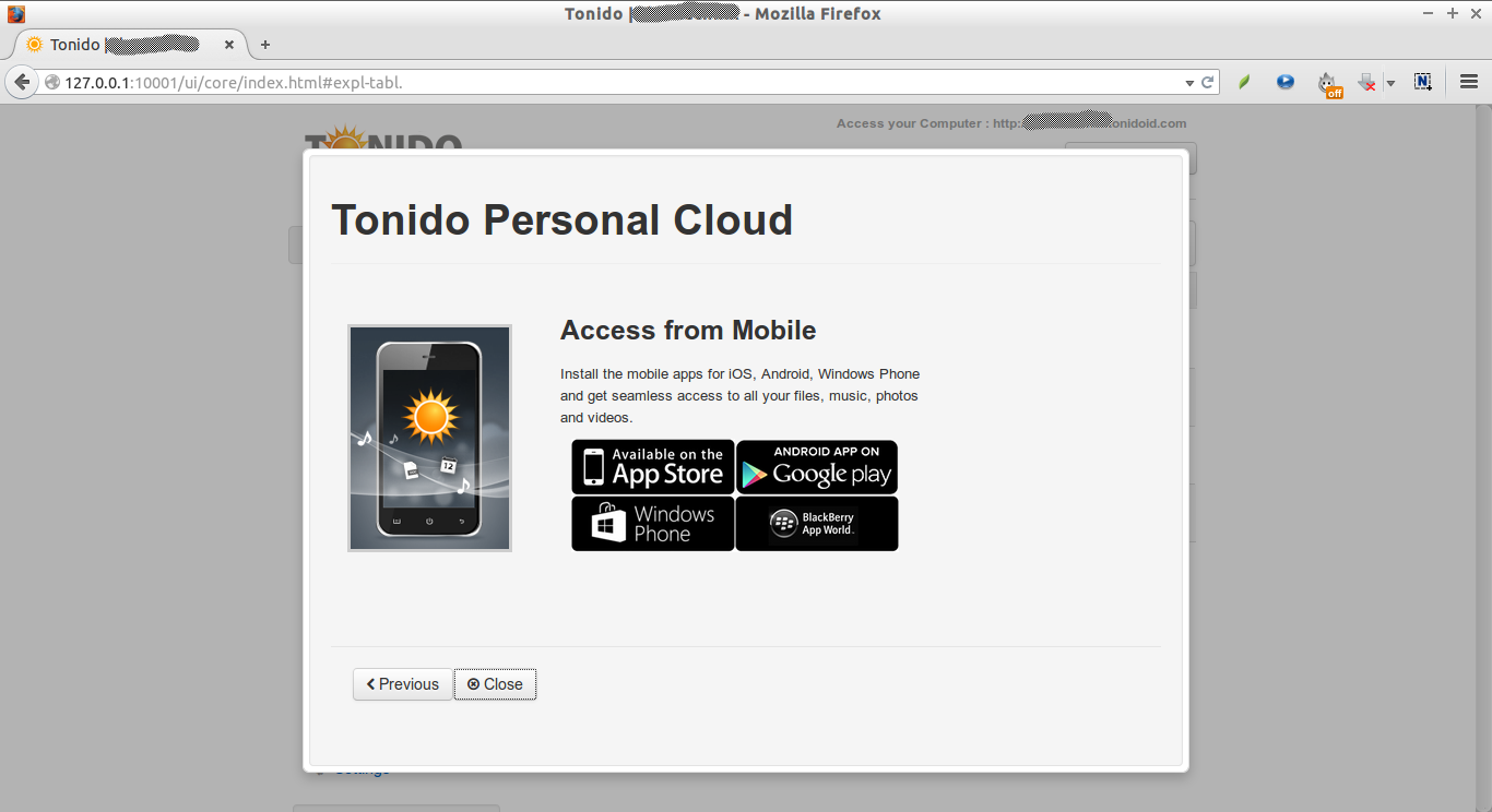 Tonido | skostechnix - Mozilla Firefox_009