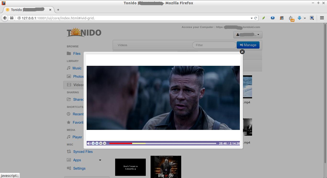 Tonido | skostechnix - Mozilla Firefox_019