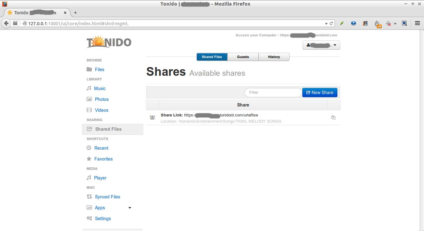 Tonido | skostechnix - Mozilla Firefox_020