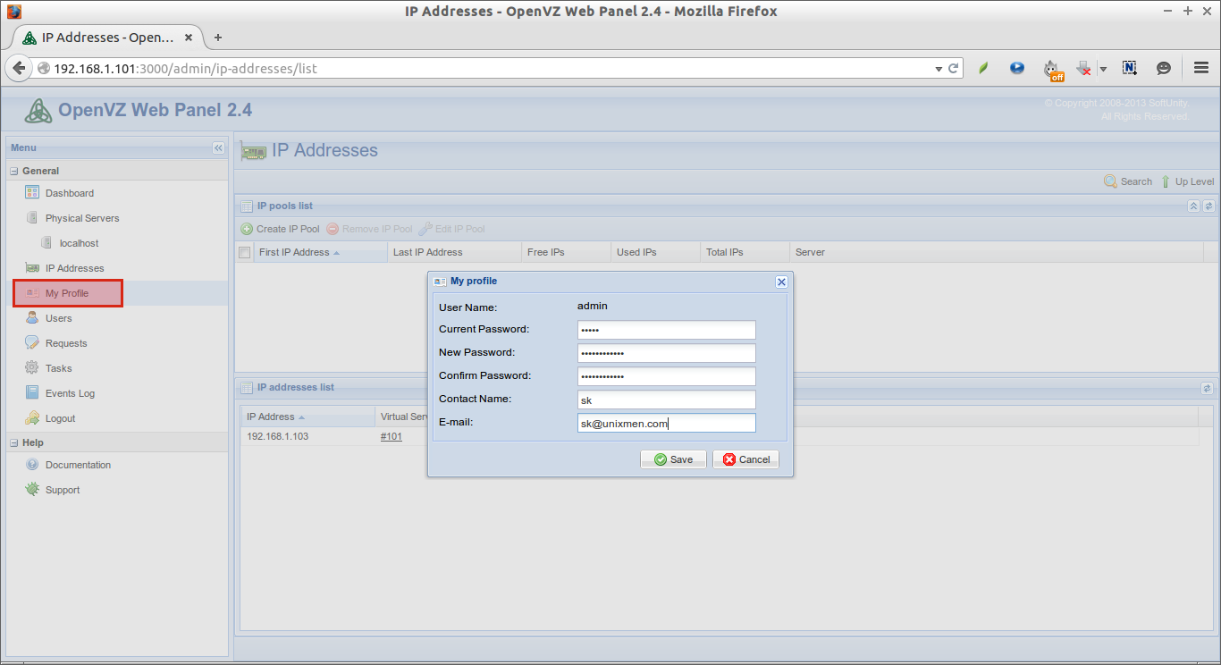 openvz templates download - sameh attia openvz web panel managing openvz containers