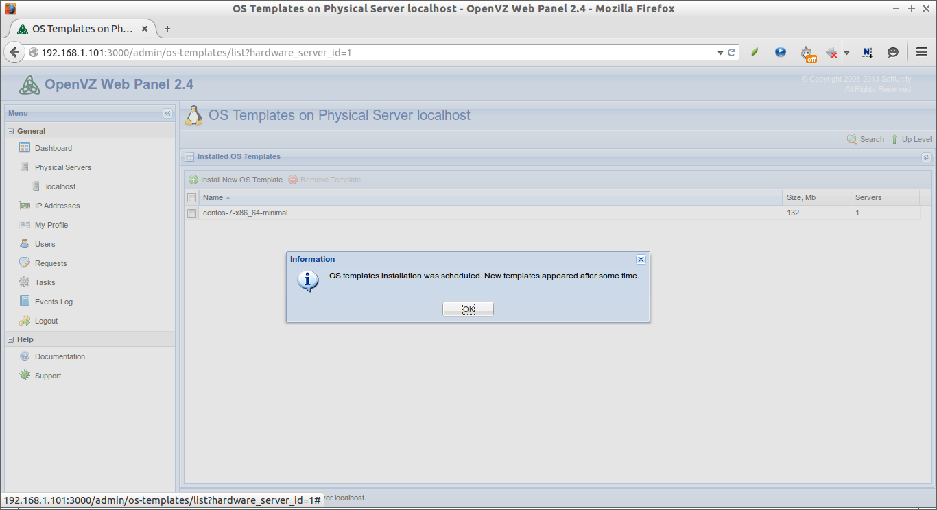 OS Templates on Physical Server localhost - OpenVZ Web Panel 2.4 - Mozilla Firefox_006