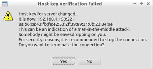 Host key verification failed_005