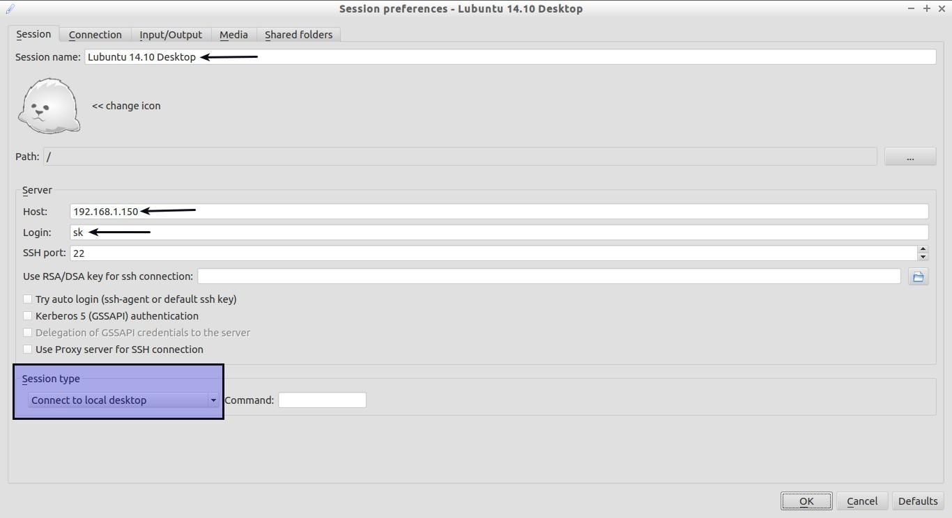 Session preferences - Lubuntu 14.10 Desktop_001