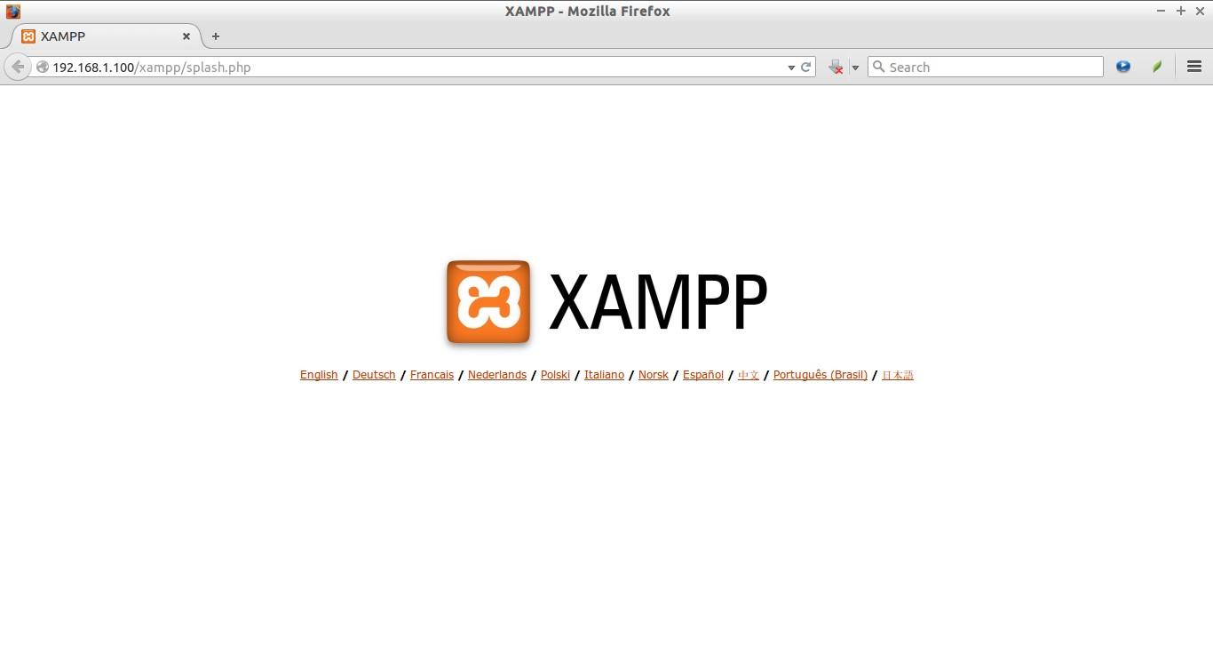 XAMPP - Mozilla Firefox_002