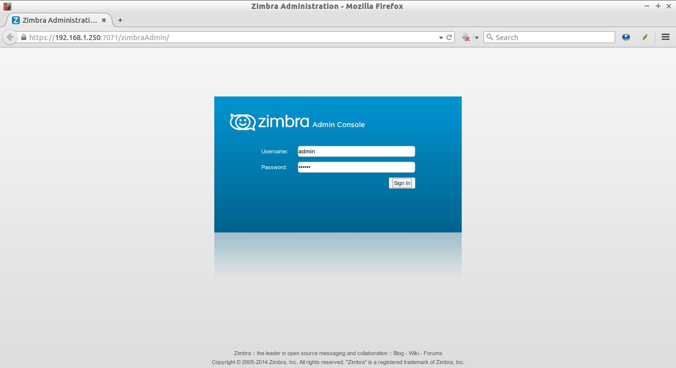 Zimbra Administration - Mozilla Firefox_001