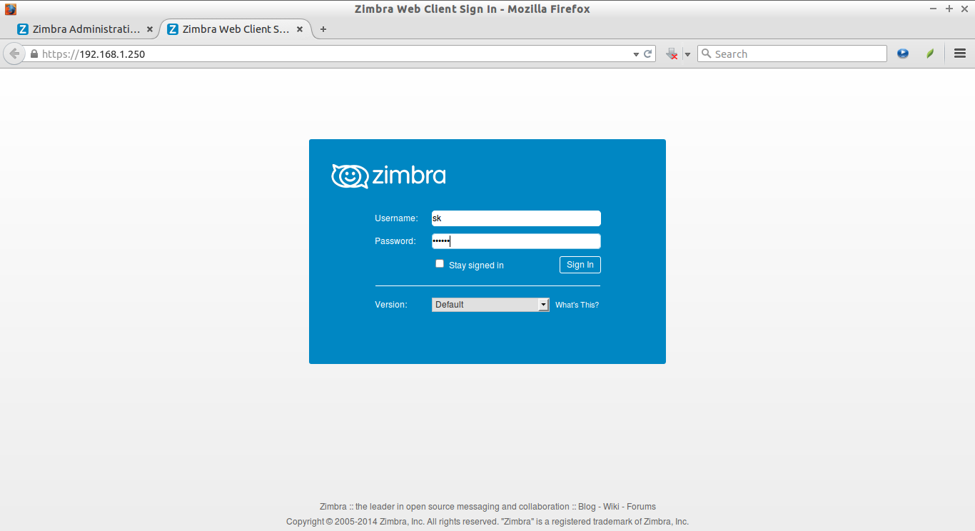 Zimbra Web Client Sign In - Mozilla Firefox_009