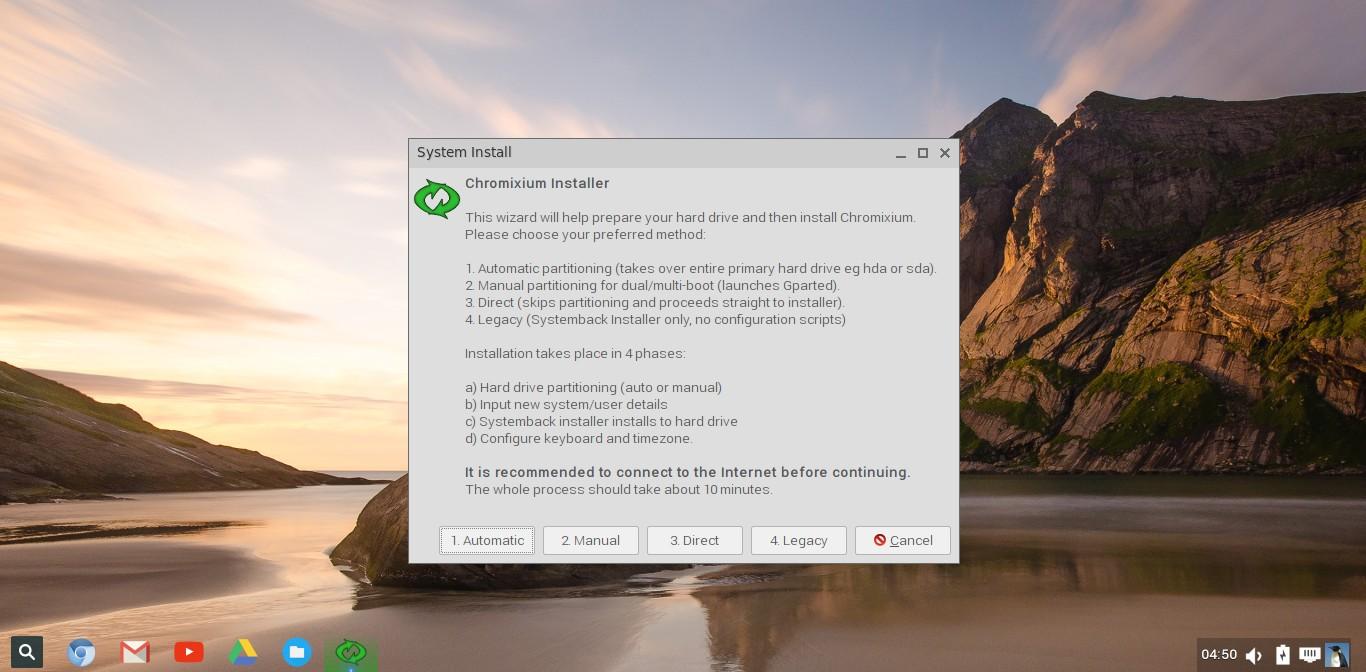 Chromixium 1.0 [Running] - Oracle VM VirtualBox_002