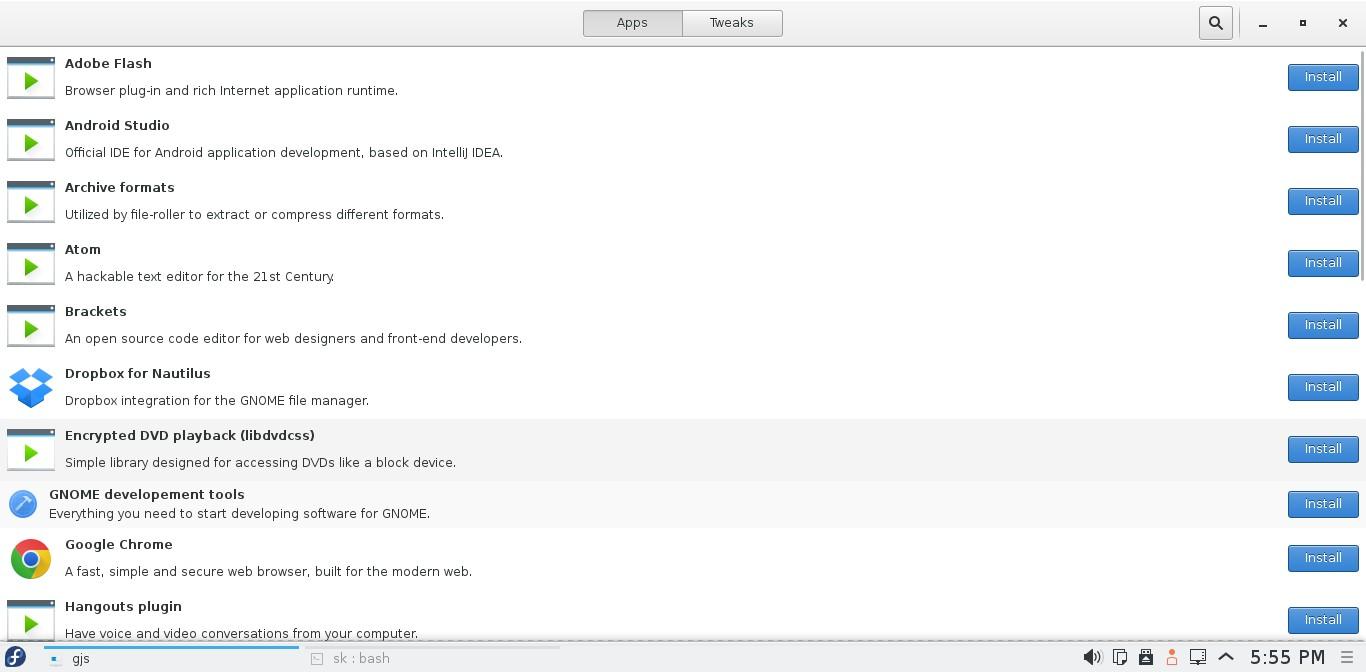Fedora 22 KDE [Running] - Oracle VM VirtualBox_001
