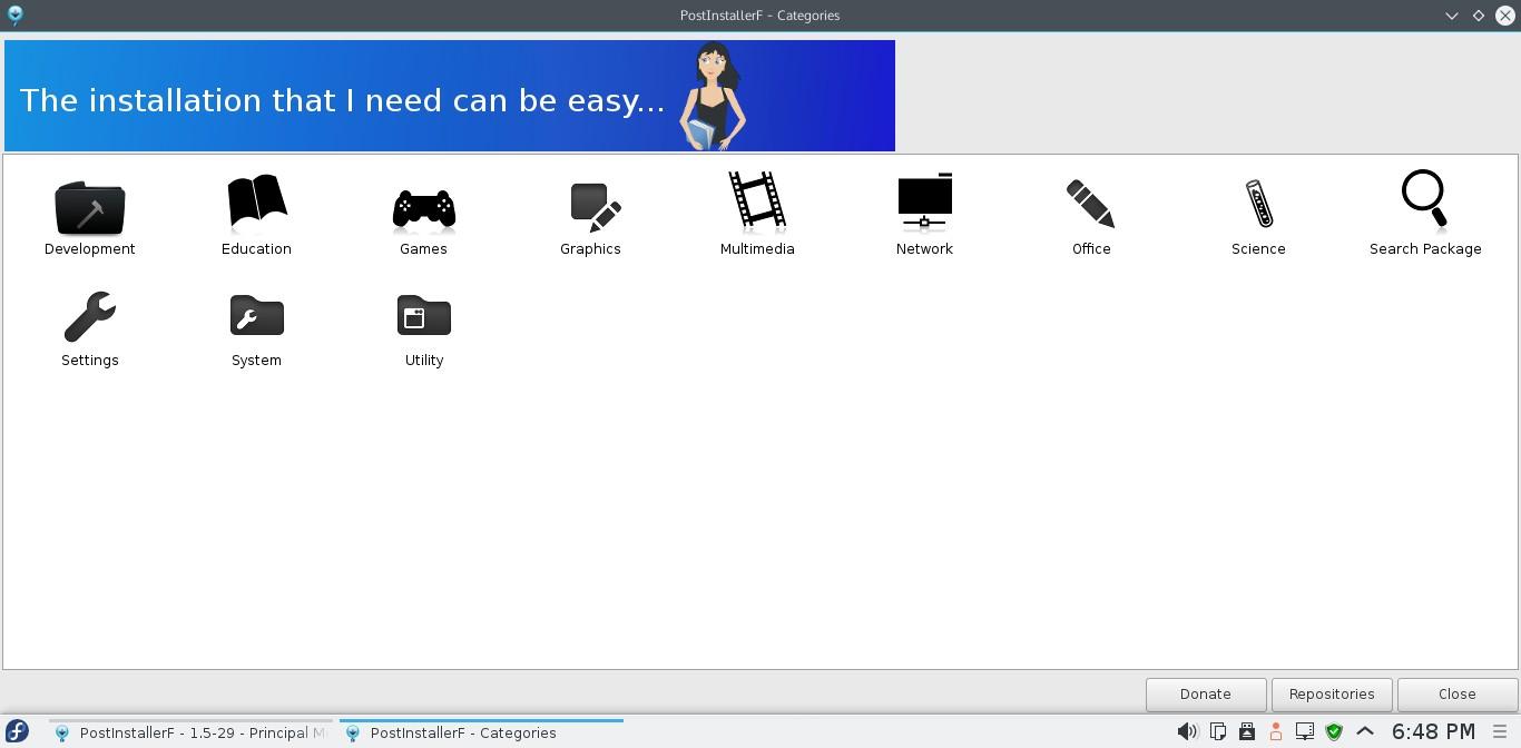Fedora 22 KDE [Running] - Oracle VM VirtualBox_002