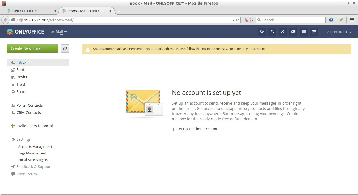 Inbox - Mail - ONLYOFFICE™ - Mozilla Firefox_013