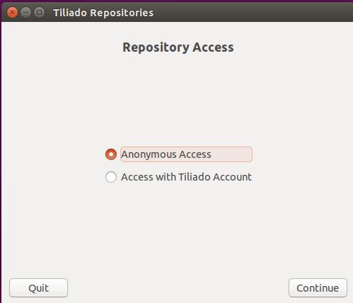 Accessing the Tiliado Repositories