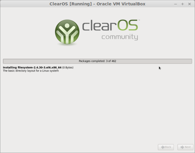 ClearOS [Running] - Oracle VM VirtualBox_012