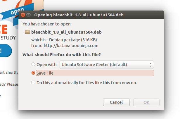 Download Bleachbit