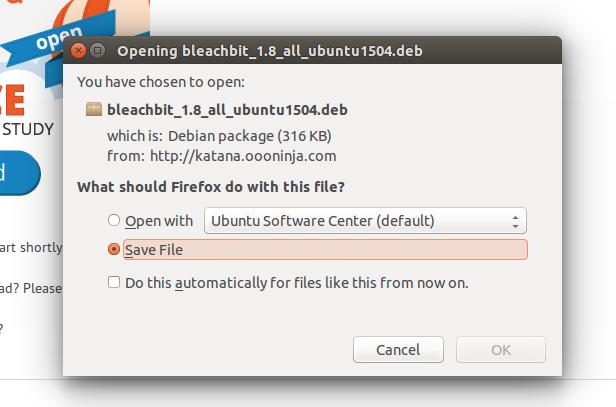 Download Bleachbit