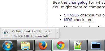 Download Virtualbox on Windows