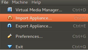 Import Appliance