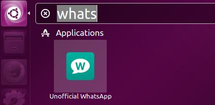 Launch Whatspp web