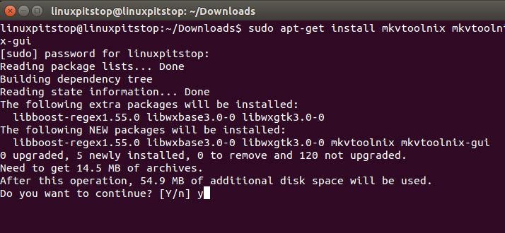 MKVToolNix install