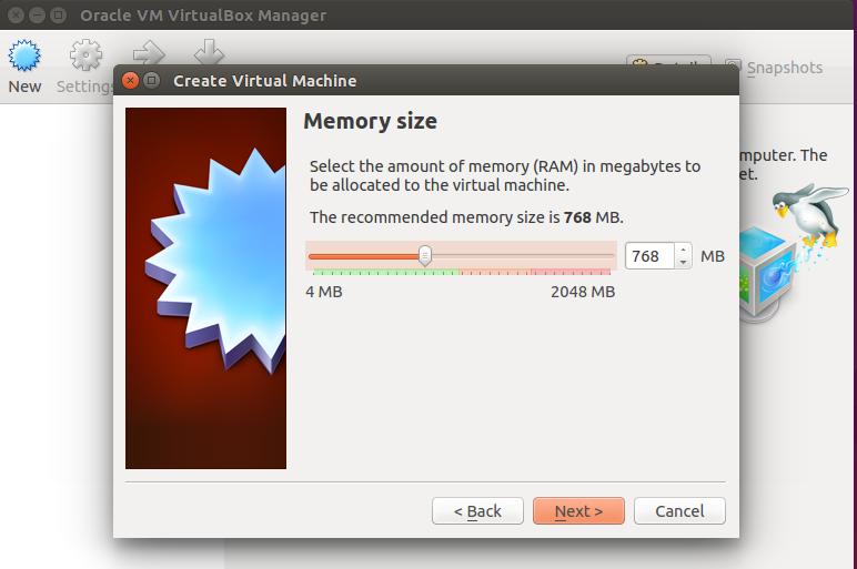 Memory for VM