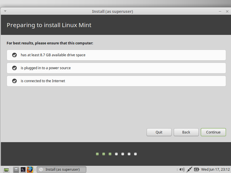 Making sure network and Disk
