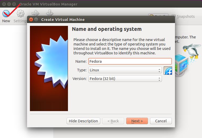 Creating a New VM