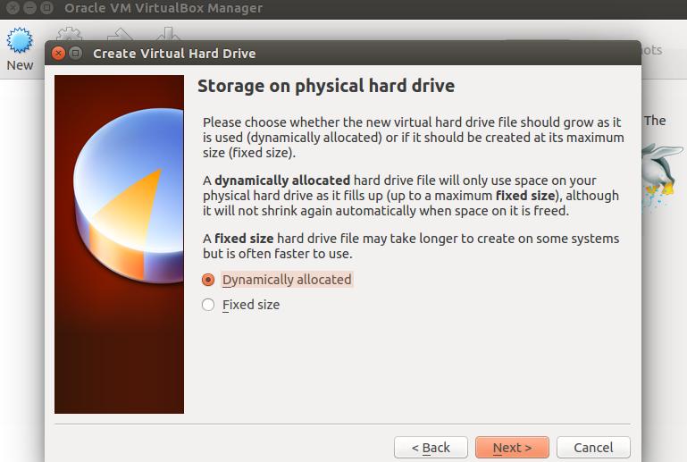 Physical storage type