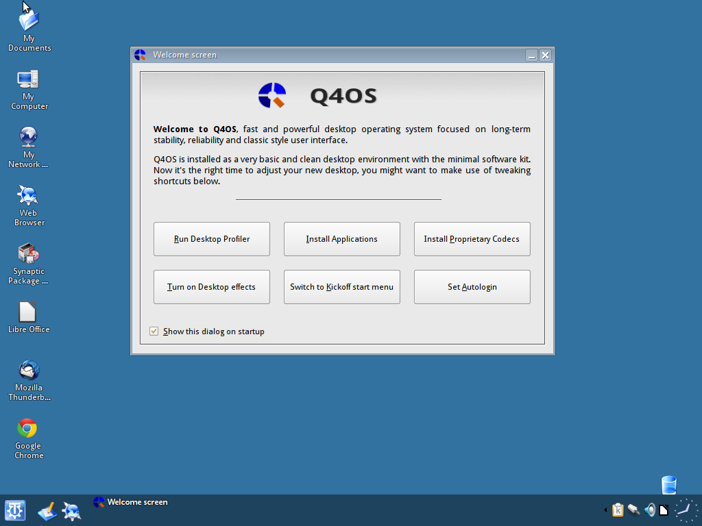 Q4OS is ready to rock