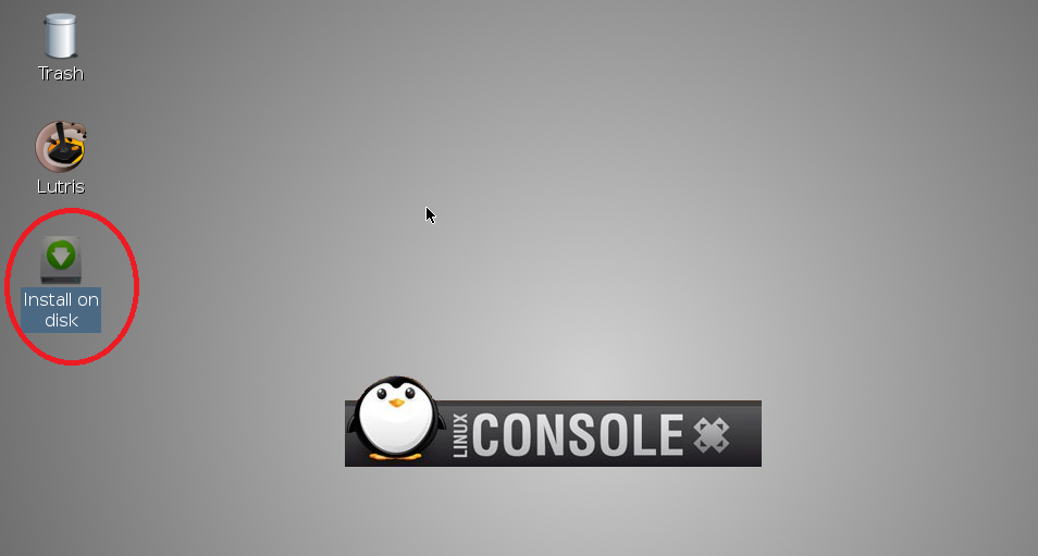Start Install Linuxconsole