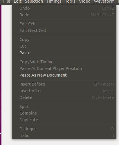 Subtitleeditor menu2