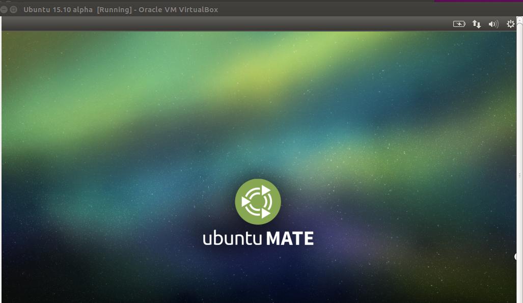 Ubuntu 15.10 alpha start