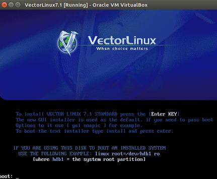 VecorLinux 1