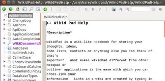 Wikidpad Main