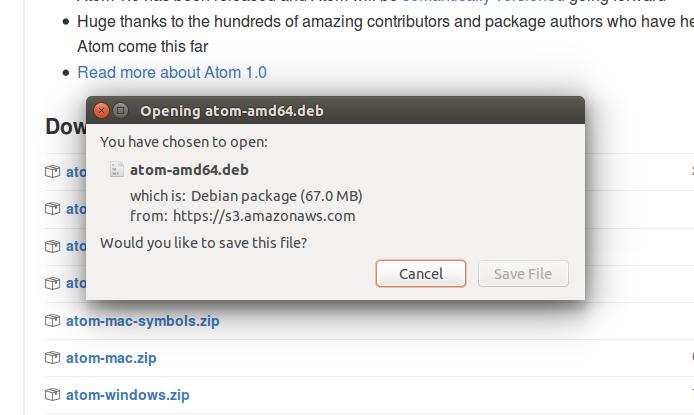 atom download