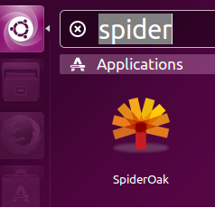 launch spideroak