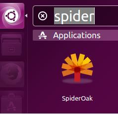 launch spideroak