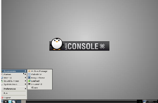 linuxconsole post install