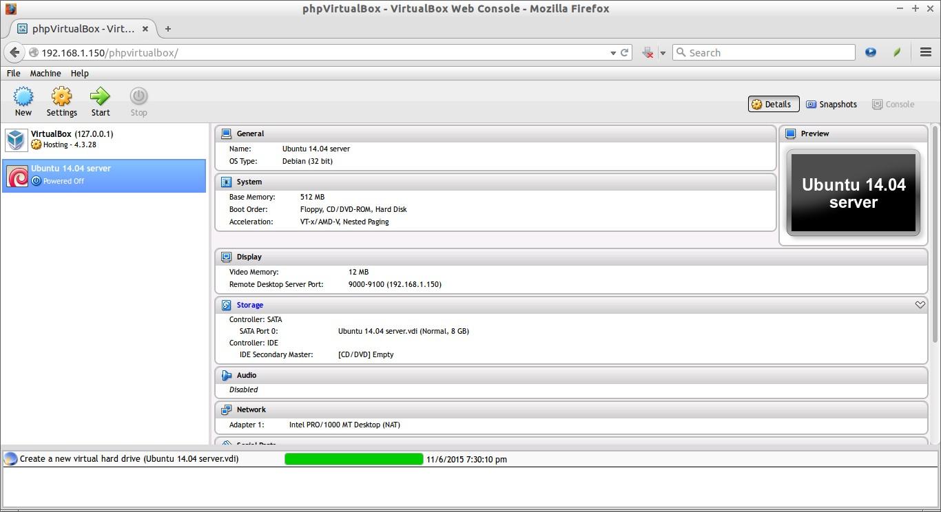phpVirtualBox - VirtualBox Web Console - Mozilla Firefox_009
